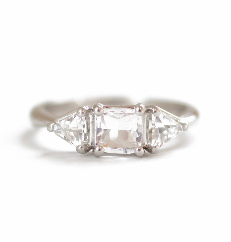 The Maine Morganite Ring