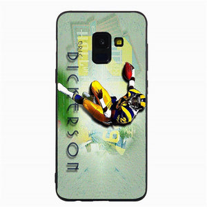 Yinuoda Phone Case For NFL Los Angeles Rams Samsung Galaxy S10 S9 8Plus S6 S7 Edge Carson Jared Goff Soft TPU For S9 S10 Lite