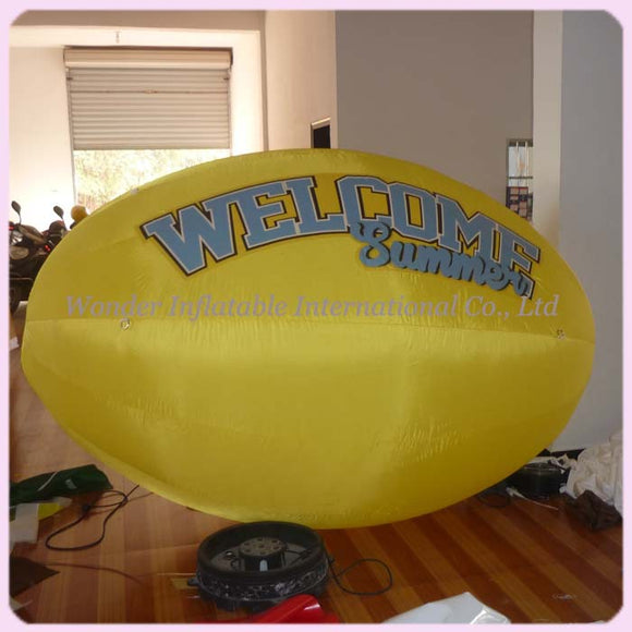 Nfl advertising display inflatable rugby football