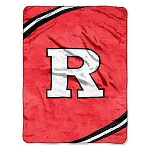 NCAA US Football NFL Royal Plush Raschel Throw Blanket