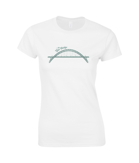 Tyne Bridge Women's Geordie T-Shirt SoftStyle®