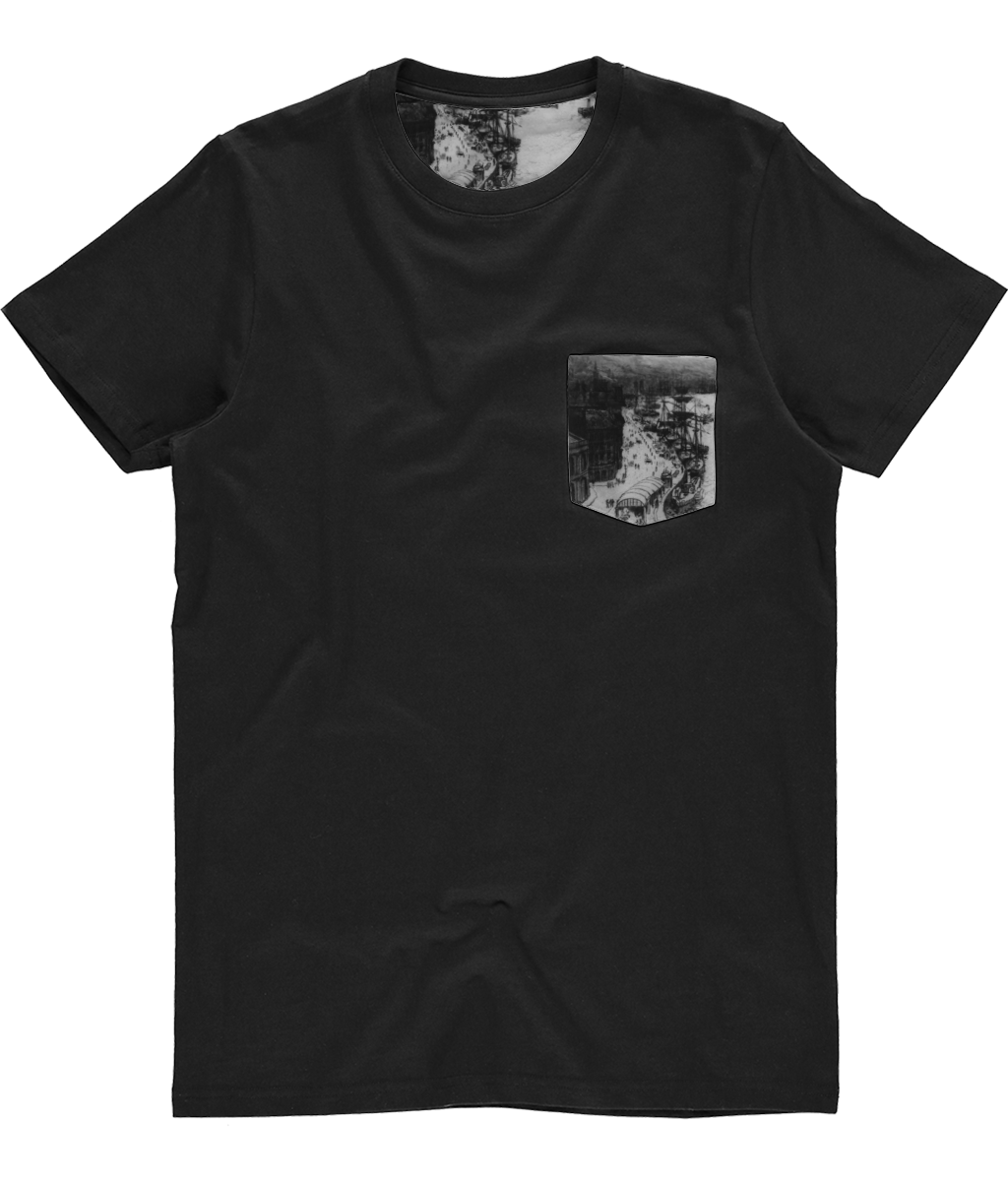 Newcastle Tyne Bridge sketch t-shirt
