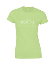 Load image into Gallery viewer, 'The North' Geordie Women's T-Shirt SoftStyle®