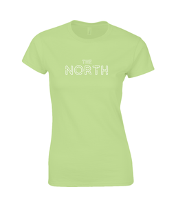 'The North' Geordie Women's T-Shirt SoftStyle®