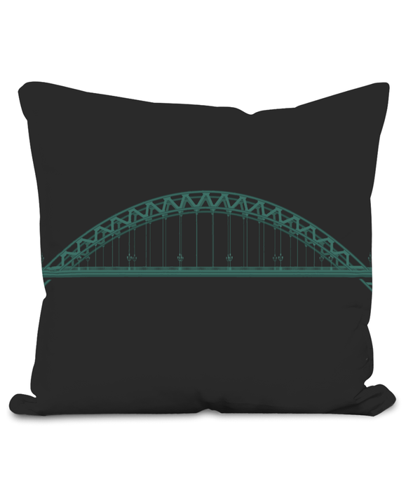 Tyne Bridge Homeware Cushion (40cm)