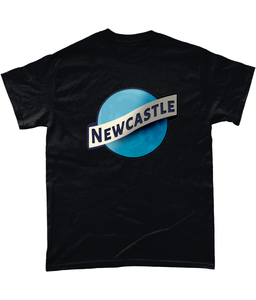 Newcastle Moon Geordie Mens T-Shirt