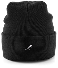Load image into Gallery viewer, Magpie Cuffed Beanie Knitted Hat