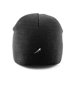 Magpie Embroidered Knitted Beanie Hat