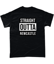 Load image into Gallery viewer, 'Straight Outta Newcastle' Geordie Mens T-Shirt