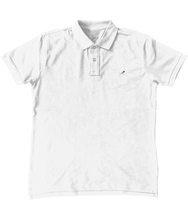 Load image into Gallery viewer, Magpie Embroidered Mens Polo Shirt