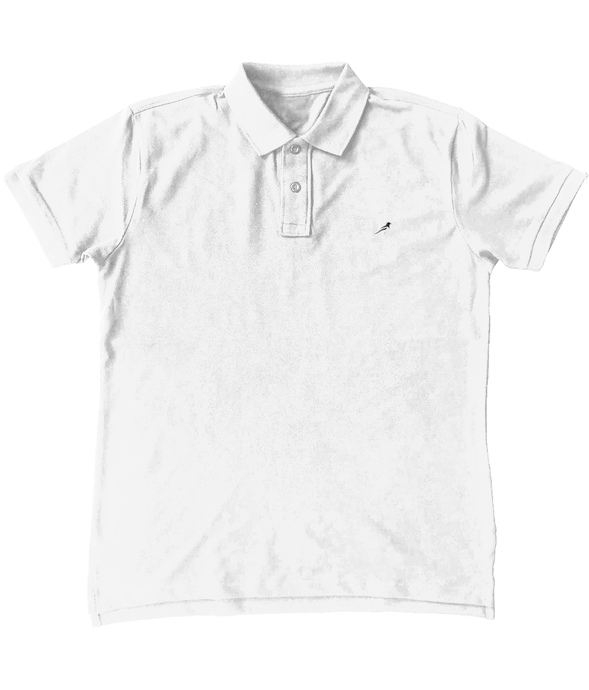 Magpie Embroidered Mens Polo Shirt
