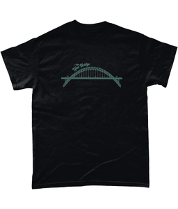 Tyne Bridge Geordie Mens T-Shirt