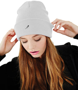 Magpie Cuffed Beanie Knitted Hat