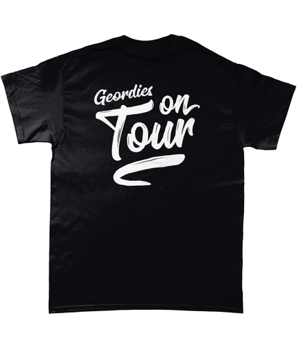 Geordies On Tour (reverse print)