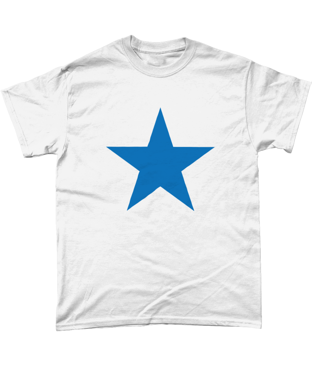 Newcastle Blue Star Mens T-Shirt