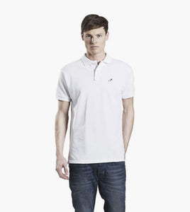 Embroidered Magpie Polo Shirt