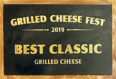 JenChan's First Place Grilled Cheese Fest 2019 Best Classic Atlanta