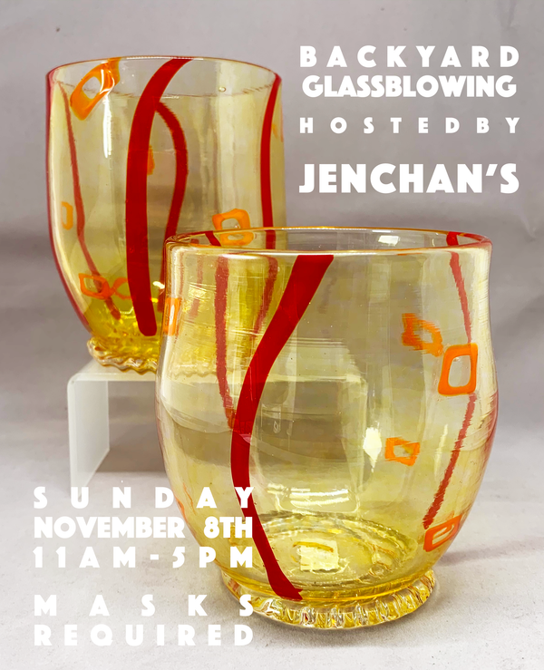 Glassblowing at JenChan's