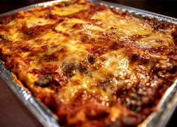Lasagna (Vegetarian/GF Version available)