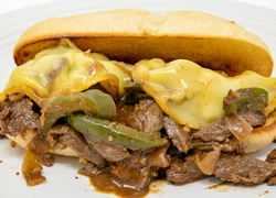 Mongolian Beef Cheesesteak