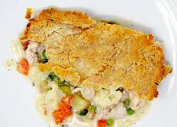 Chicken Pot Pie (GF, Regular, or Vegetarian GF)