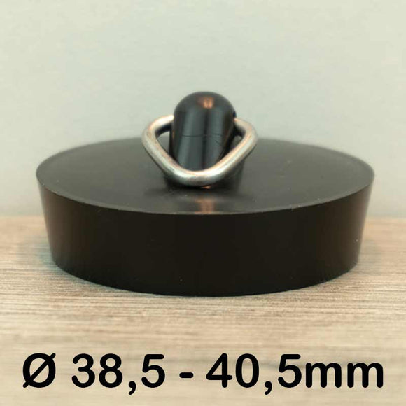 Gootsteen stop Ø38,5 - 40,5mm (Rubber)
