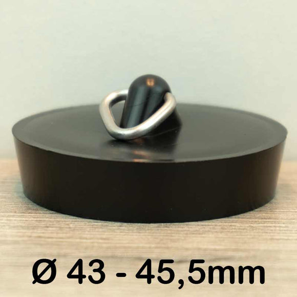 Gootsteen stop Ø43 - 45,5mm (Rubber)