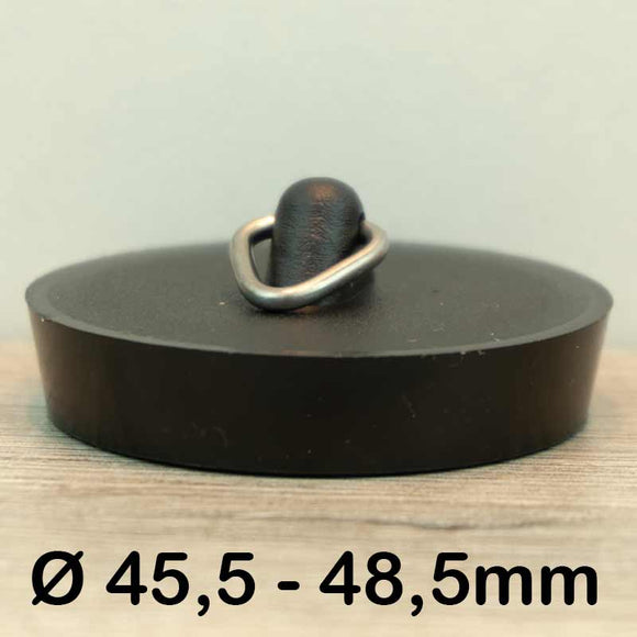 Gootsteen stop Ø45,5 - 48,5mm (Rubber)