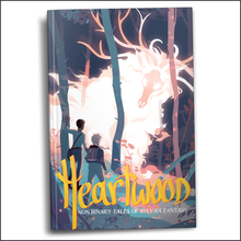 Load image into Gallery viewer, Heartwood: Non-binary Tales of Sylvan Fantasy (Flawed Hardcover)**