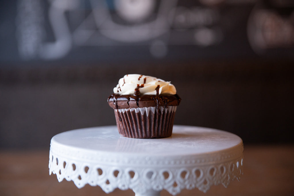 Molly's Center Filled Cupcake - Flourless Molten Chocolate