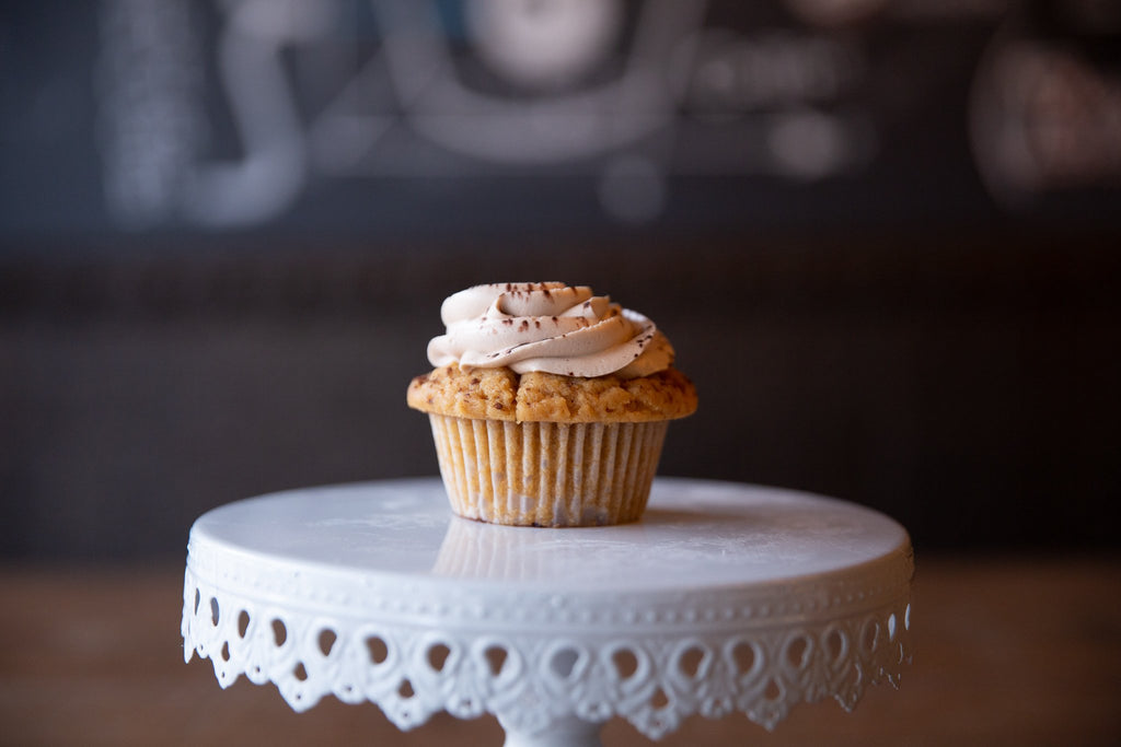 Molly's Center Filled Cupcake - Peanut Butter Nutella