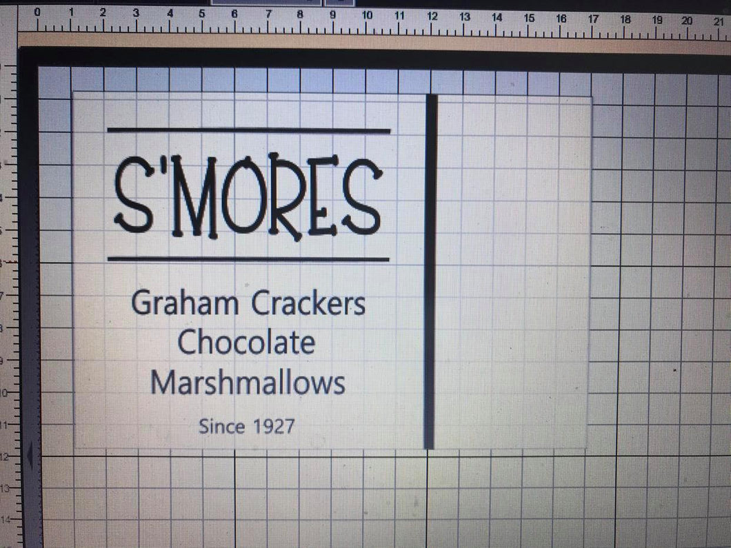 S'mores Tray 12