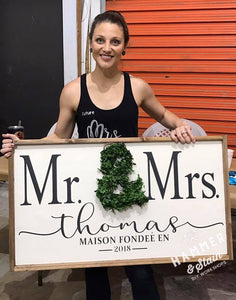 January 9th Thursday Public- at 330 pm Large sign/Single Plank Workshop