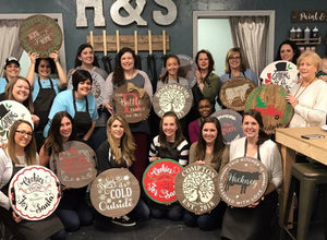 October 18th SEMI-PRIVATE - Friday at 7 pm-Girl's Crafting Night  Workshop (8)