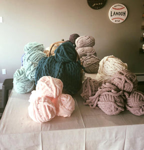 Dec 1 Sunday PUBLIC-1:00 PM Cozy Blanket Workshop