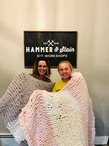 Dec 15 PUBLIC- Sunday at 1:00 pm -  Cozy Blanket Workshop