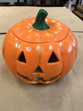 Load image into Gallery viewer, Ceramic Jack-O'-Lantern