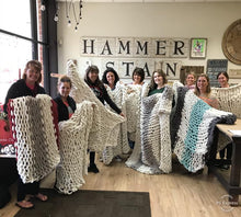 Load image into Gallery viewer, February 1 Saturday PUBLIC-  1:00 PM Cozy Blanket Workshop