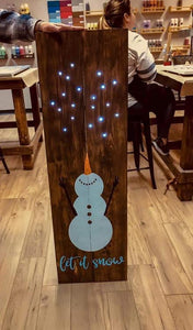 February 8th, Saturday at 3:00 PM, Private, Marie's Wood Sign Workshop (25)