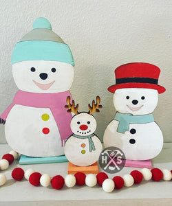 Trio Snowman- Take Home Kit