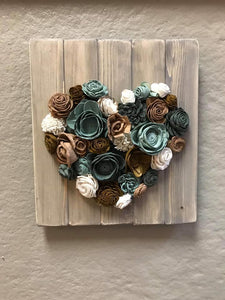 February 15 Saturday PUBLIC-  6:00 PM Wood Flower Workshop