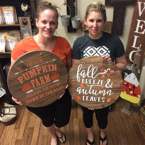 08/27/2018 6:30pm It's Fall Y'all Workshop (Clermont)