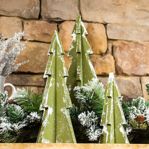 Set of 3 Puzzle Piece Christmas Trees- Take Home Kit