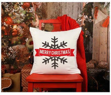 "Load image into Gallery viewer, Christmas pillows 20"" x 20"""