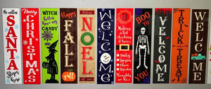 September 13th Friday at 6 pm Liz-Girl's night out-Double Sided Porch Plank Workshop