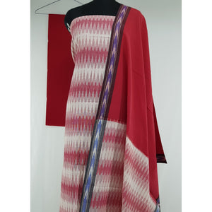 Handloom Ikat cotton salwar set - Vinshika