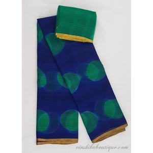 Pure Kota Silk Tie and Dye Saree