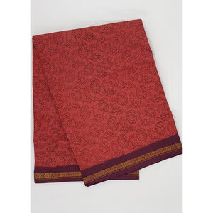 Madhurai Sungudi 9 Yards batic pure cotton saree - Vinshika