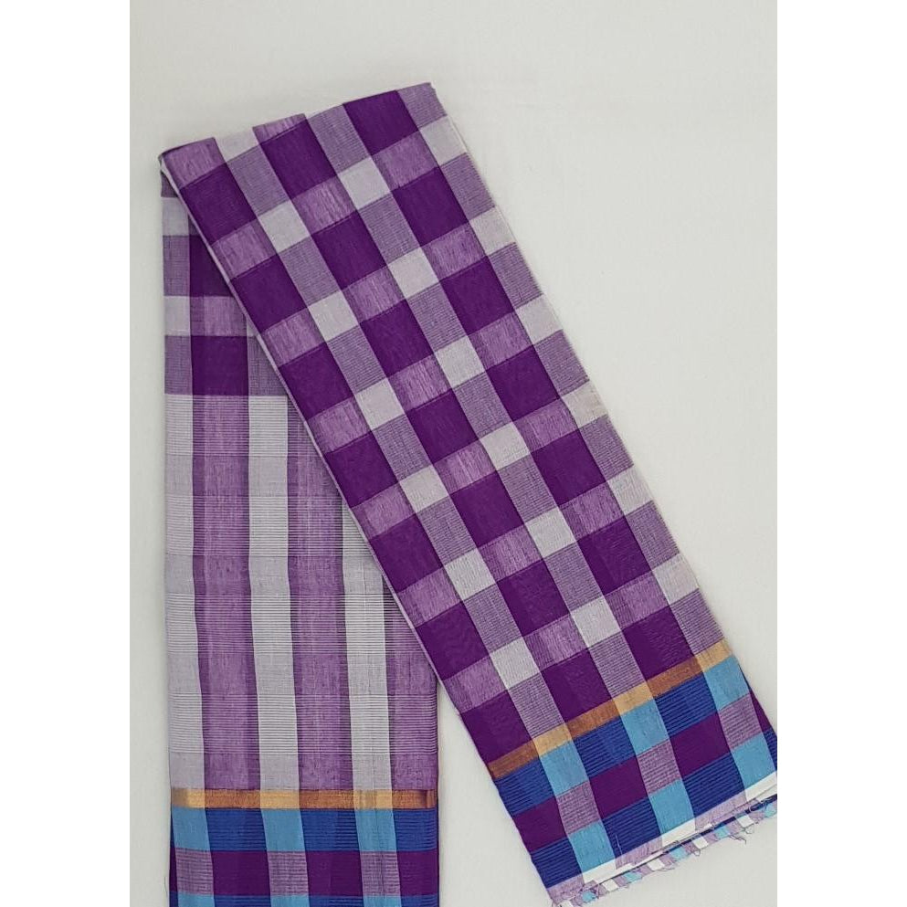 Woven Pure Cotton Saree - Vinshika