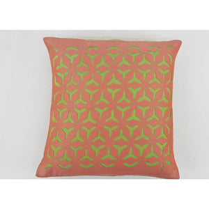 Cotton Applique Cushion Cover